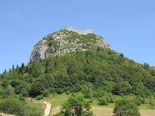The Montségur Mountain