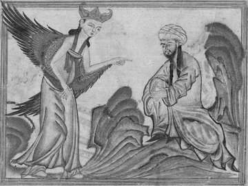 Muhammad and angel Gabriel
